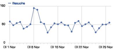 Besucher Statistik November 2011