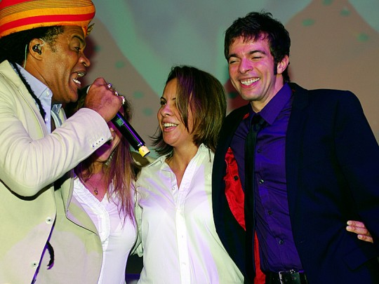 Brazilian Night with Carlinhos Brown at CeBIT 2012