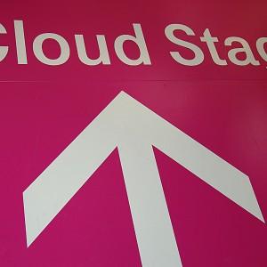 Visualisierung von Cloud Computing auf der CeBIT 2012 in Hannover